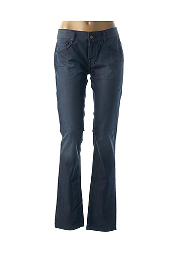 Jeans coupe droite bleu ACQUAVERDE pour femme
