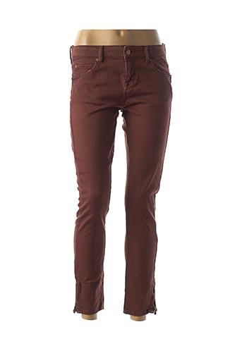 Pantalon 7/8 orange ACQUAVERDE pour femme