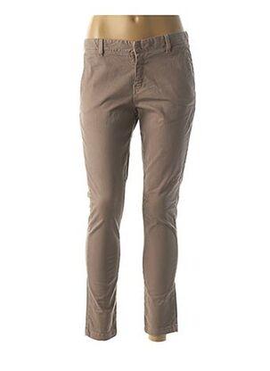 Pantalon 7/8 marron ACQUAVERDE pour femme