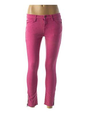 Pantalon 7/8 rose ACQUAVERDE pour femme