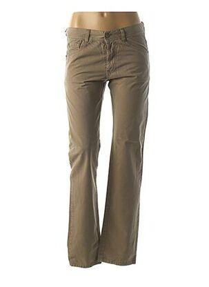 Pantalon casual marron ACQUAVERDE pour femme