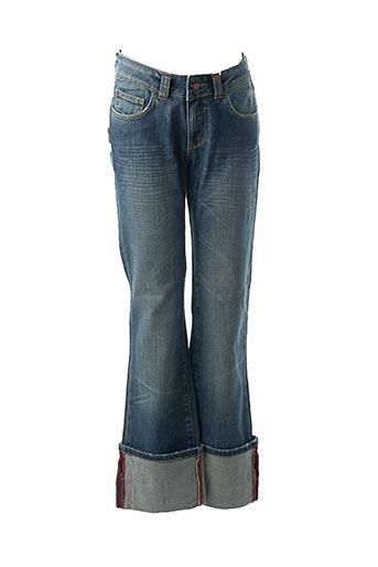 Jeans bootcut bleu EN&VY pour femme