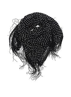 Foulard noir LAURENCE DOLIGE pour femme