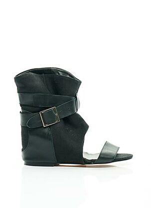 Sandales/Nu pieds noir AMERICAN RETRO pour femme