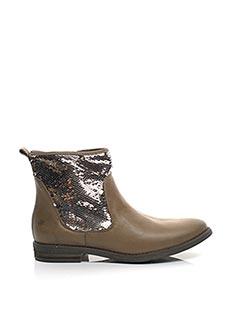Bottines/Boots marron ACEBOS pour femme