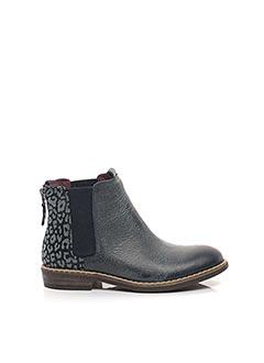 Bottines/Boots bleu MOD 8 pour fille