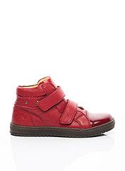 Baskets rouge ROMAGNOLI pour fille seconde vue