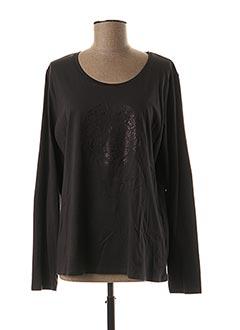 T-shirt manches longues gris TBS pour femme