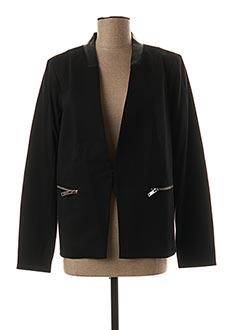 Veste chic / Blazer noir DDP pour femme