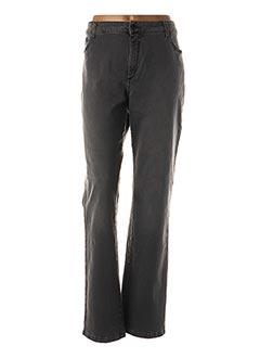 Jeans coupe slim gris PIERRE CARDIN pour femme