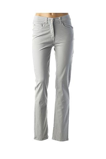 Pantalon casual gris CMK pour femme