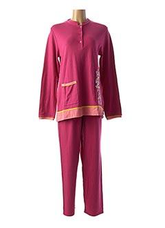 Pyjama rose ROSE POMME pour femme