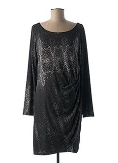 Robe mi-longue gris DESIGUAL pour femme