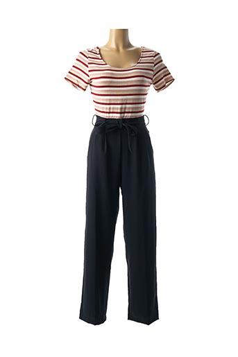 Combi-pantalon bleu BLUNE pour femme