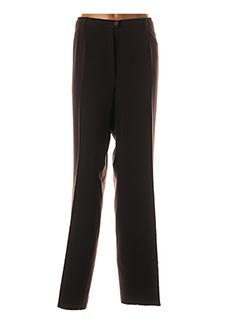 Pantalon casual marron CHRISTIAN MARRY pour femme