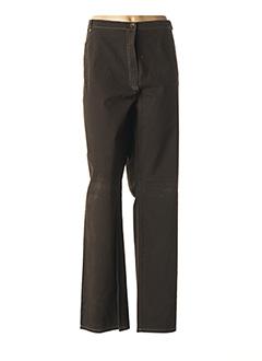 Pantalon casual marron QUATTRO pour femme