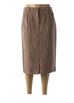 Jupe mi-longue beige CLAUDE BAUER pour femme