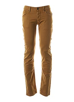 Jeans coupe slim jaune TIFFOSI pour homme