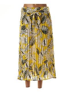Jupe longue jaune GRACE & MILA pour femme