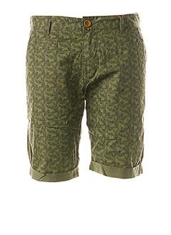 Short vert BLEND pour homme