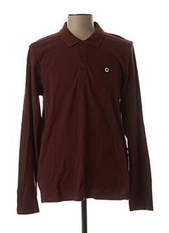 Polo manches courtes rouge TEDDY SMITH pour homme