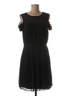 Robe mi-longue noir VILA pour femme