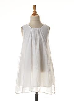 Robe courte blanc NAME IT pour fille