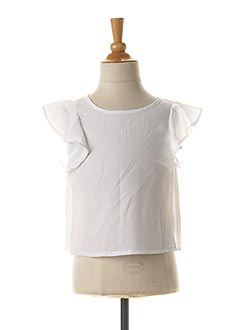 Top blanc TIFFOSI pour fille