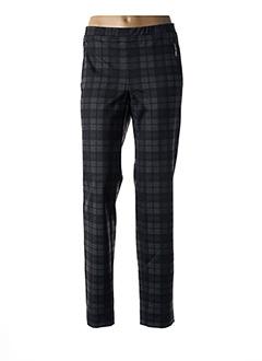 Pantalon casual gris DIVAS pour femme