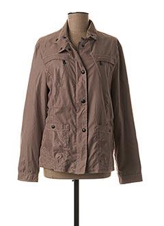 Veste casual marron ROFA MODEN pour femme