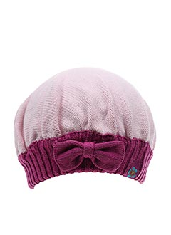 Bonnet rose TOM TAILOR pour fille