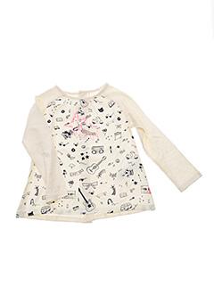 T-shirt manches longues beige BILLIEBLUSH pour fille
