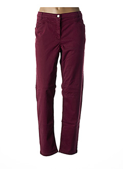 Pantalon casual rouge BETTY BARCLAY pour femme