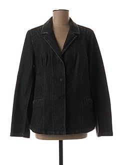 Veste en jean gris AGATHE & LOUISE pour femme