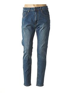 Jeans coupe slim bleu NANA BELLE pour femme