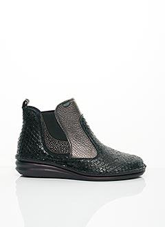 Bottines/Boots noir ON FOOT pour femme