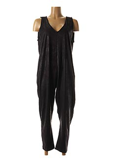 Combi-pantalon noir CHANTAL B. pour femme
