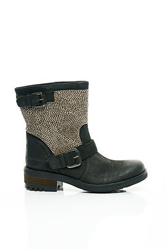 Bottines/Boots noir ILARIO FERUCCI pour femme