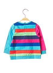 T-shirt manches longues bleu TUC TUC pour fille seconde vue