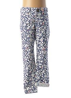 Pantalon casual bleu JOULES pour fille