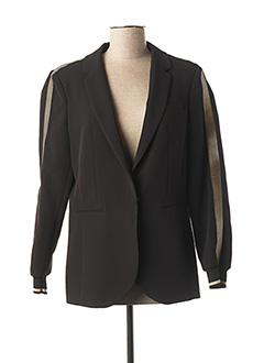 Veste chic / Blazer noir LAUREN VIDAL pour femme
