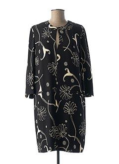 Robe mi-longue noir ESSENTIEL pour femme