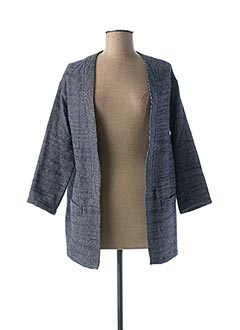 Veste casual bleu HARTFORD pour femme