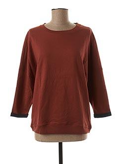 Sweat-shirt marron SESSUN pour femme