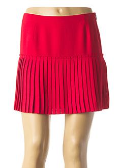 Jupe courte rouge VANESSA BRUNO pour femme