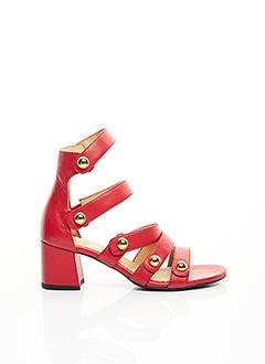 Sandales/Nu pieds rouge TARA JARMON pour femme
