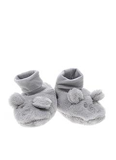 Chaussons/Pantoufles gris ABSORBA pour garçon