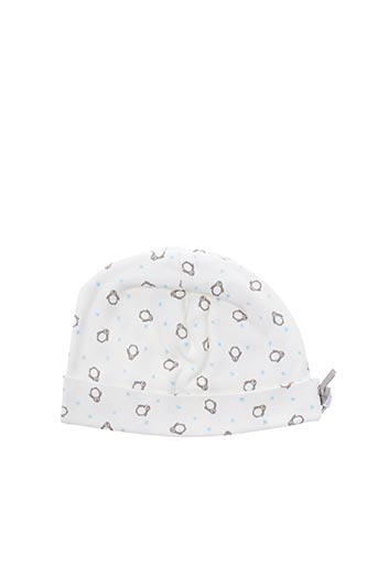 Bonnet blanc ABSORBA pour garçon