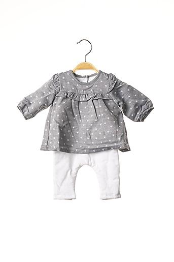 Combi-pantalon gris ABSORBA pour fille