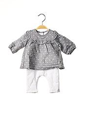 Combi-pantalon gris ABSORBA pour fille seconde vue